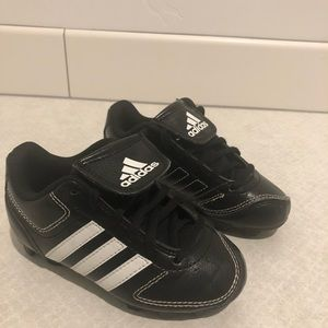 Like new Adidas toddler cleats.
